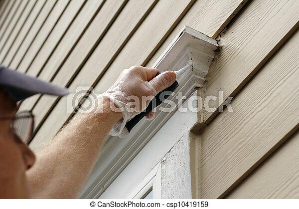 Sealing Window Leaks - csp10419159