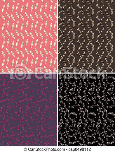 seamless abstract pattern print - csp8498112