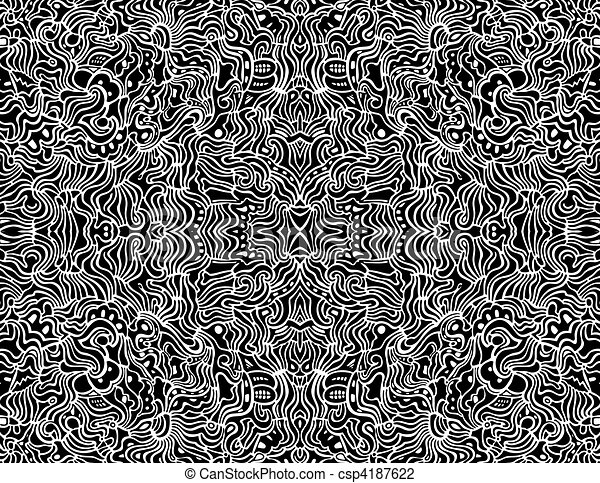 Line Art Design Abstract : Seamless abstract vector design background an intricate