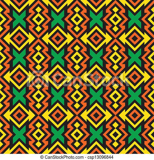 Seamless african pattern Fashion fabric New African Pattern