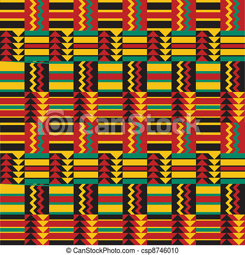 Seamless african pattern Traditional ethnic pattern New African Pattern