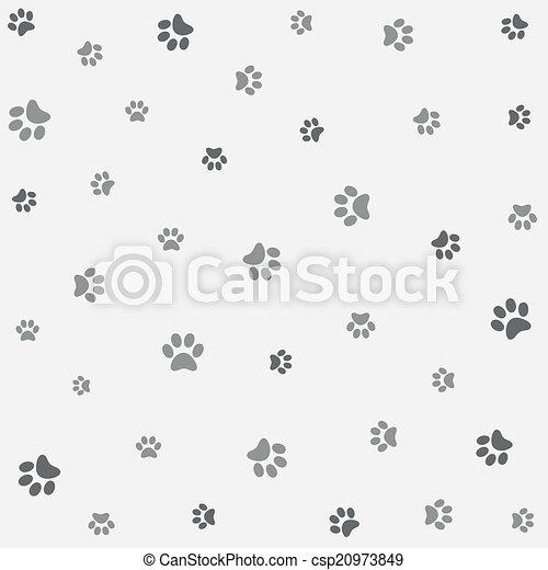 Seamless Animal Pattern Wallpaper