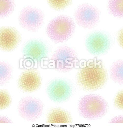seamless, astratto, modello, fondo, puntino, colorito - csp77096720