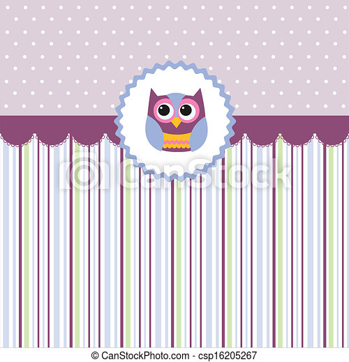 Seamless baby pattern, wallpaper  - csp16205267