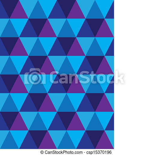 Seamless Background Of Triangle Diamond Geometric Shapes Vector Interesting Repetitive Patterns