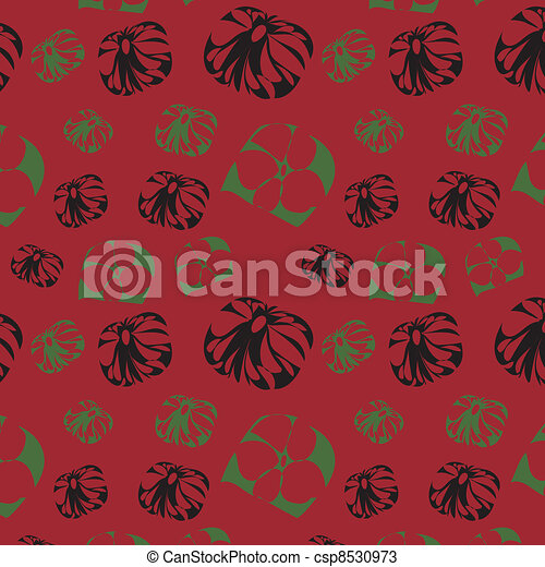 Seamless background with abstract f - csp8530973