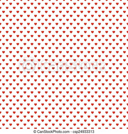 Seamless background with hearts - csp24933313