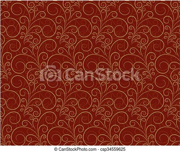 Seamless background with pattern. - csp34559625