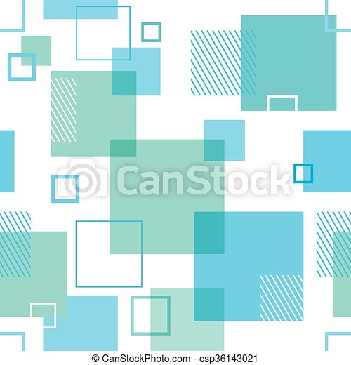 Seamless Background with Squares - csp36143021