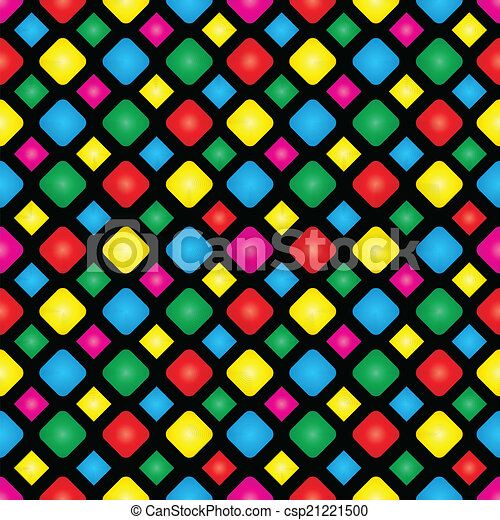 Seamless background with squares - csp21221500