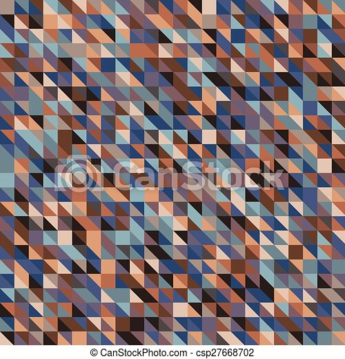 seamless background with squares - csp27668702