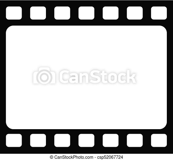 Seamless Blank Tranitional Retro Film Frame Template Background The