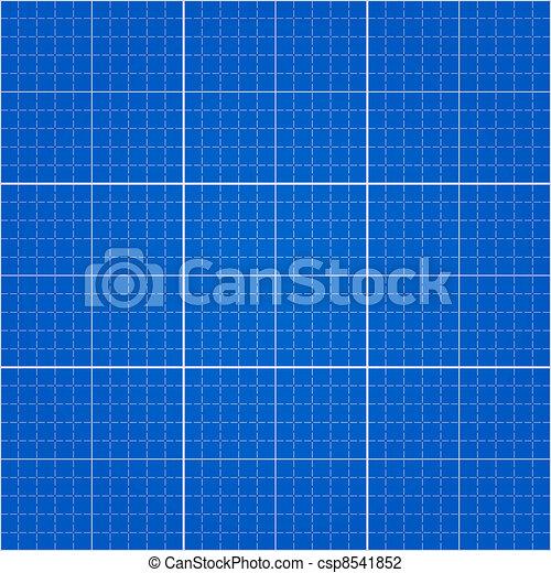 Seamless Blueprint Background - csp8541852