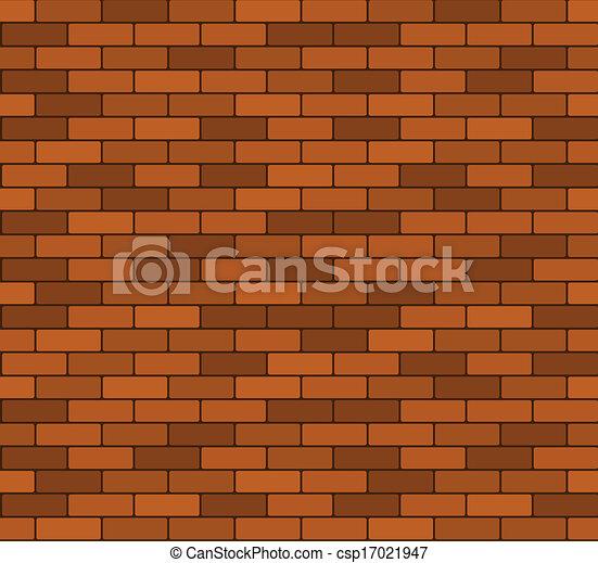 Seamless brick wall background - csp17021947