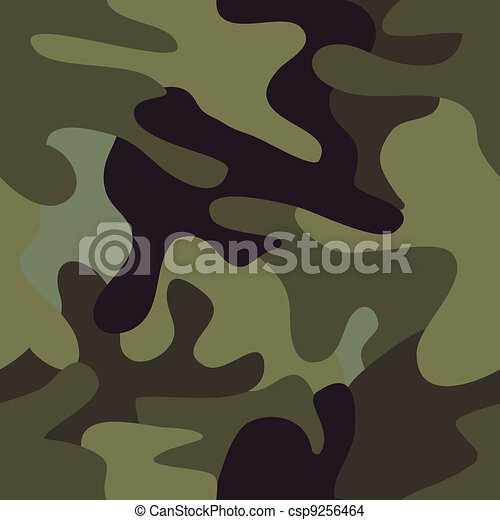 seamless camouflage  - csp9256464