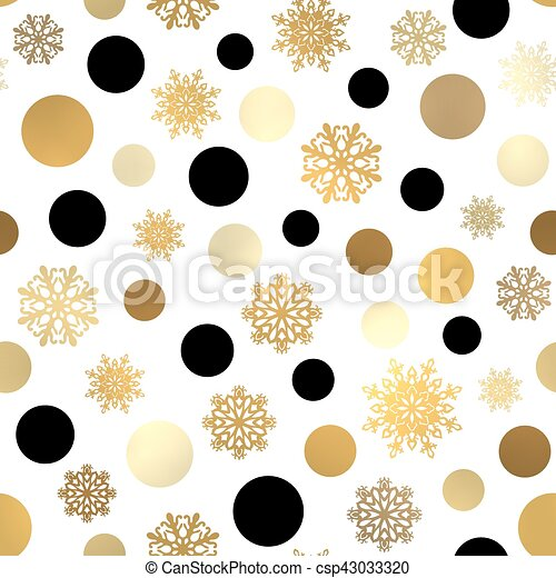 Seamless Christmas Pattern Xmas Or New Year Wallpaper With Black Gorgeous Christmas Pattern Wallpaper