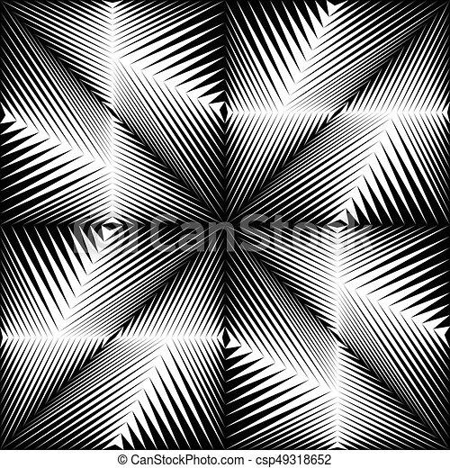 Seamless Crystal Pattern