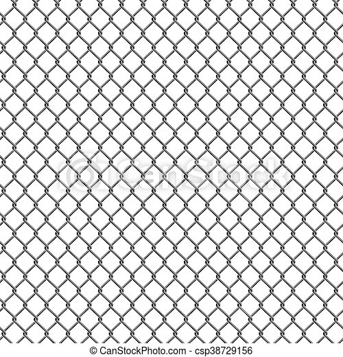 Chain Link Fence Texture With Seamless Detailed Chain Link Fence Pattern Texture