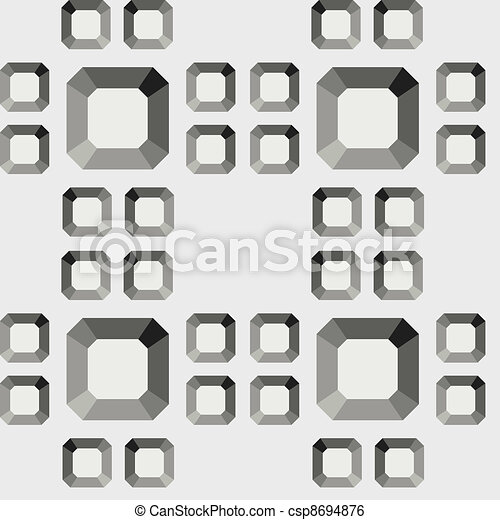 seamless diamond pattern - csp8694876