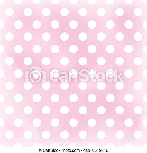 seamless dots pattern background - csp16519616