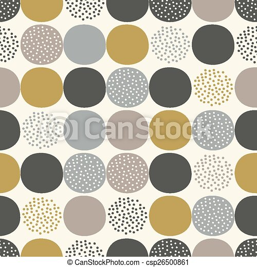 seamless dots pattern - csp26500861