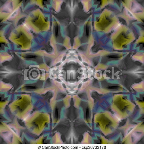 105b28213 Seamless Dye Pattern with colorful tie dye technique, Fabric and textile  background - csp38733178