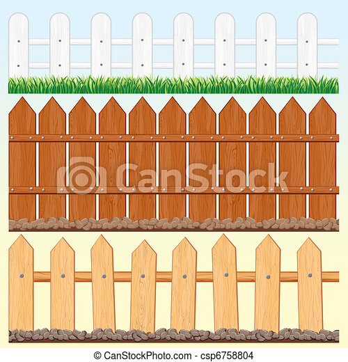 Seamless Fences Set - csp6758804