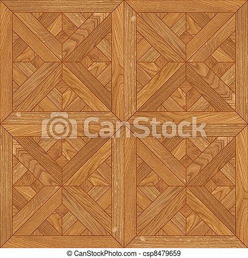 seamless floor wooden texture - csp8479659