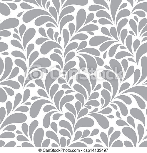 Seamless floral background - csp14133497