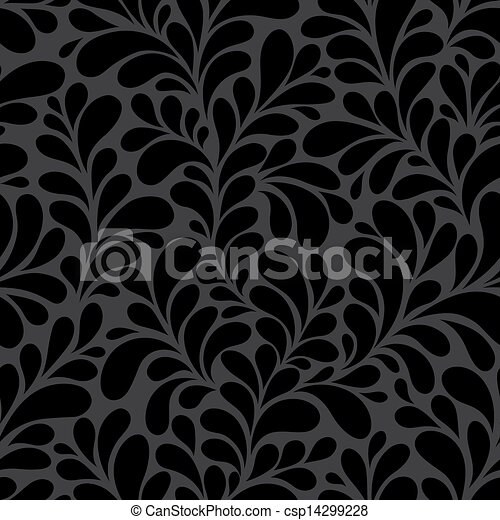 Seamless floral background - csp14299228