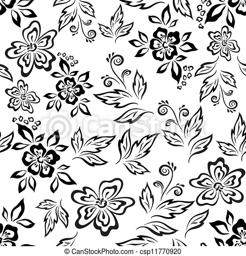 Floral Clipart Background