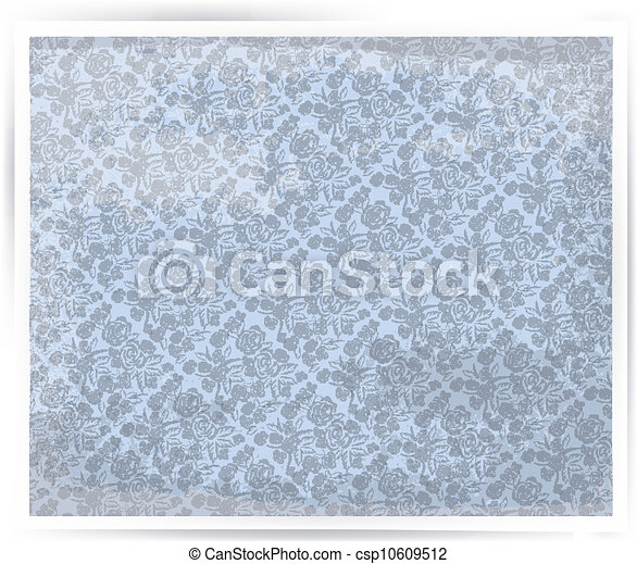 Seamless floral background - csp10609512