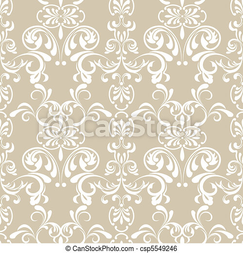 Seamless Floral Pattern - csp5549246