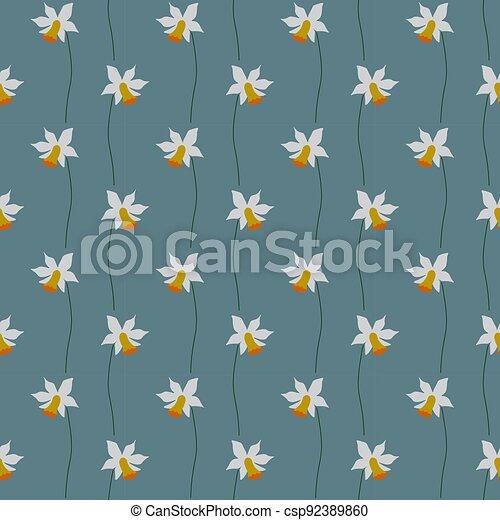 Seamless floral pattern - csp92389860