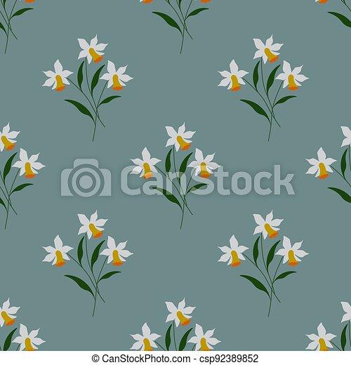 Seamless floral pattern - csp92389852