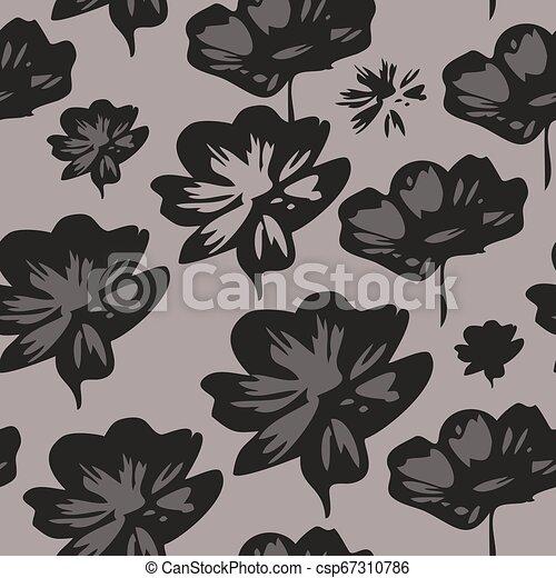 Seamless floral pattern - csp67310786