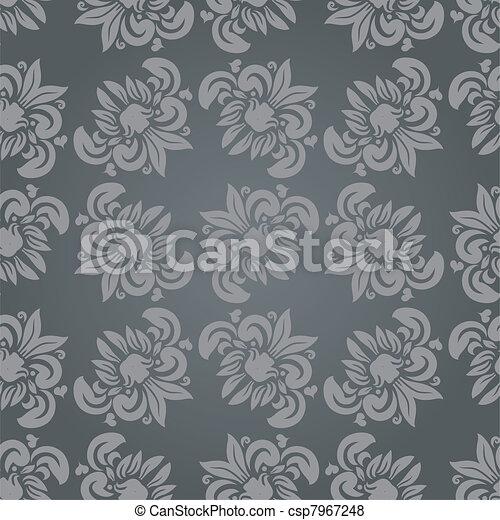 Seamless floral pattern - csp7967248