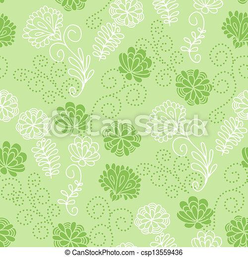 Seamless floral pattern - csp13559436