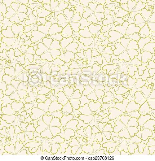 Seamless Floral Pattern - csp23708126
