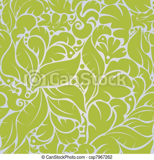 Seamless floral pattern - csp7967262