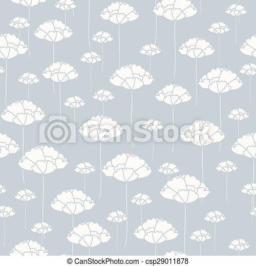 Seamless floral pattern - csp29011878