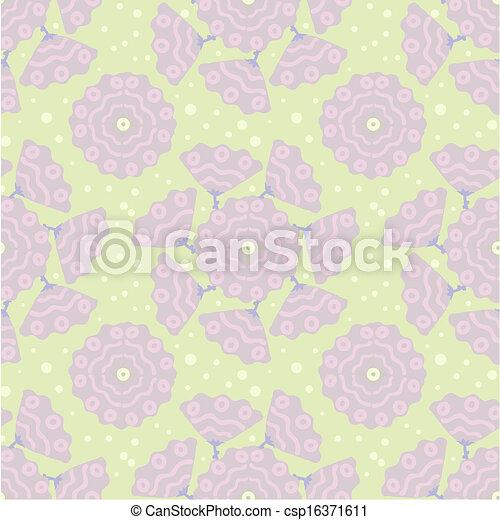 seamless floral pattern - csp16371611
