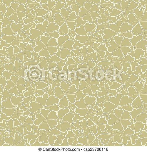 Seamless floral pattern - csp23708116