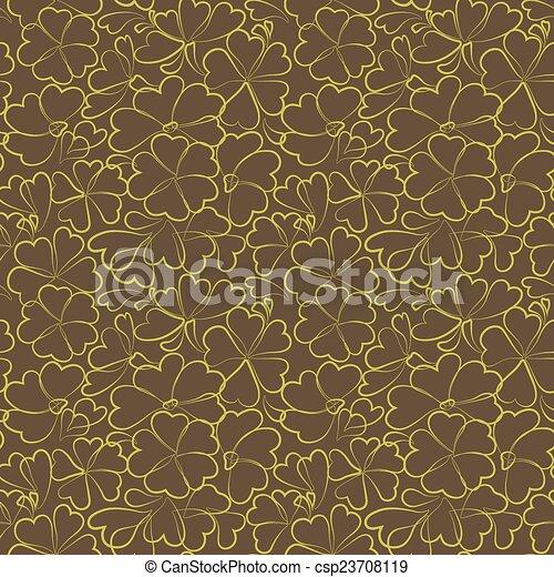 Seamless Floral Pattern - csp23708119