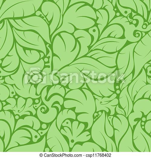 Seamless floral pattern - csp11768402
