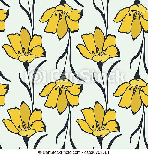 a71c18493a674 Seamless flower buttercup pattern. Seamless flower buttercup pattern ...