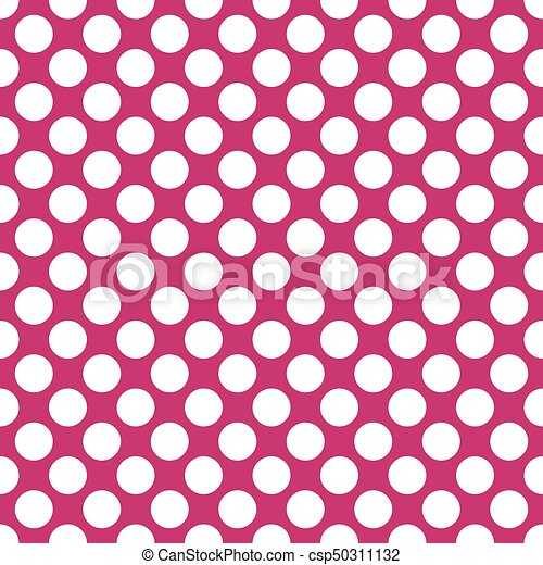 seamless fuchsia polka dots pattern texture background vectors rh canstockphoto com pink polka dot background clipart