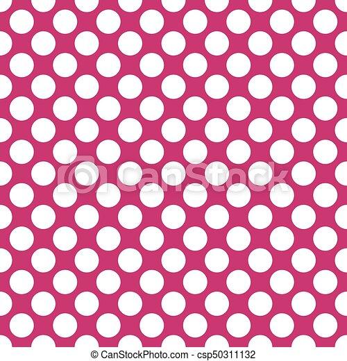 seamless fuchsia polka dots pattern texture background vectors rh canstockphoto com  polka dot background clipart