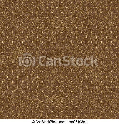 seamless, fundo, polka-dotted - csp9810891