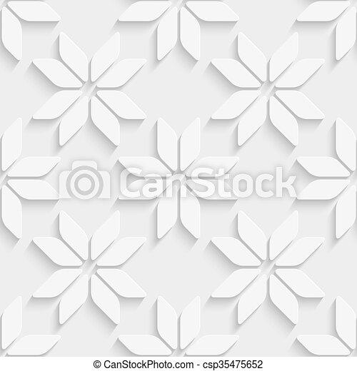 seamless, fundo, snowflake - csp35475652